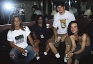 <p>Kevin Martin (L) and Candlebox pose at The Fillmore on July 23, 1994 in San Francisco, California.</p>