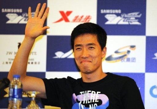 Liu Xiang beat America's David Oliver and world champion Jason Richardson