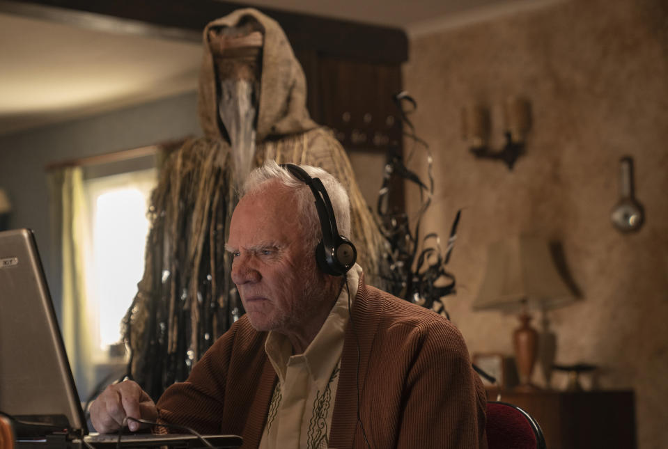 Malcolm McDowell as Richard in new Amazon Original Truth Seekers