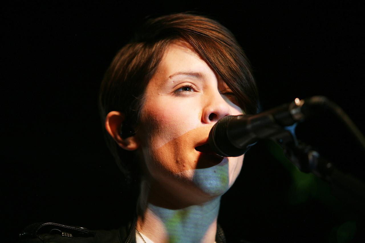 AUSTIN, TX - MARCH 12:  Tegan and Sara perform onstage at the iHeartRadio Official SXSW Showcase on March 12, 2013 in Austin, Texas.  (Photo by Roger Kisby/Getty Images for iHeartradio)