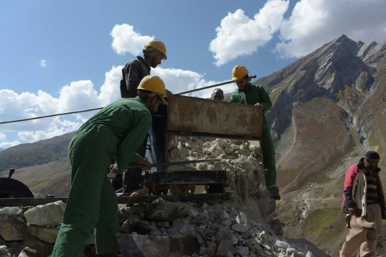 Pakistani Kashmir has just one mine and one exploration site, where miners dig to assess the potential of the jewels below