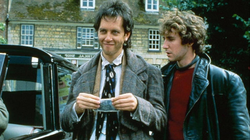 Richard E. Grant and Paul McGann in 'Withnail & I'. (Credit: HandMade Films)