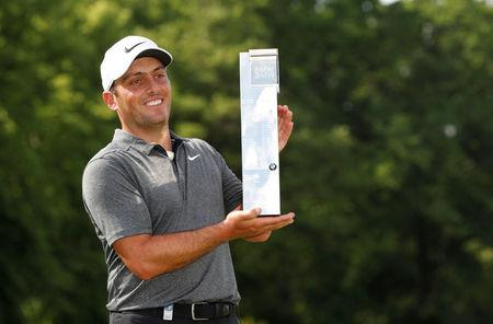 PGA Championship: Francesco Molinari wins at Wentworth by two from Rory McIlroy