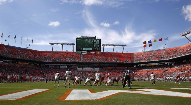 Miami promotes FSU and UNC games by asking fans if they want to go to fewer games