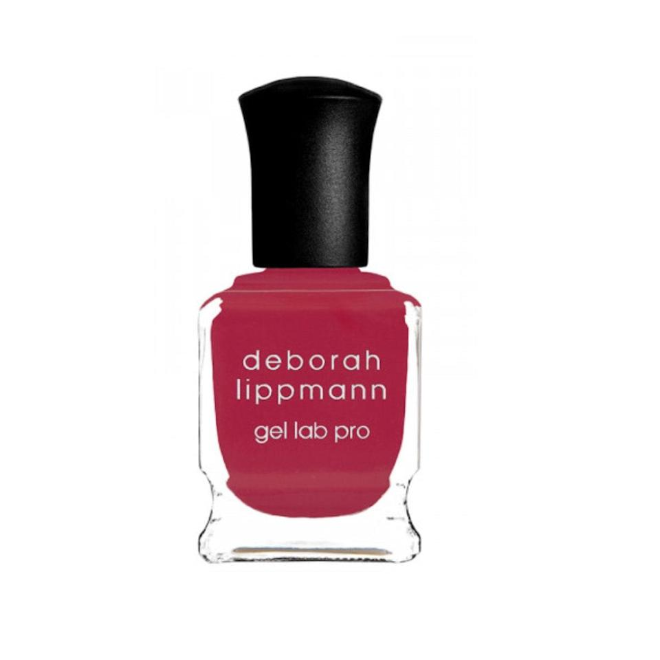 """When I think about the best summer nail polish, one thing comes to mind: hot pink. This neon shade, appropriately named In the Sun, adds a pop of color to any classic sandal while giving the illusion that even my feet have the perfect tan. This color truly hits all my summer bases. <em>—Sarah Morse, contributor</em> $20, Cos Bar. <a href=""""https://www.cosbar.com/deborah-lippmann-gel-lab-pro-polish-webp00702004-g?gclid=EAIaIQobChMI9-CQpp6Z4gIVy0wNCh2R_wgmEAQYASABEgKzv_D_BwE#156=14049"""" rel=""""nofollow noopener"""" target=""""_blank"""" data-ylk=""""slk:Get it now!"""" class=""""link rapid-noclick-resp"""">Get it now!</a>"""