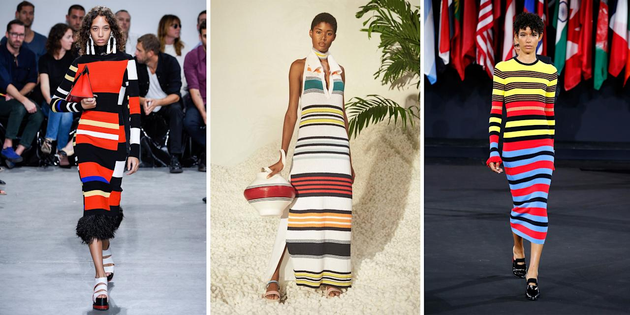 <p>From left: Proenza Schouler, Rosie Assoulin, and Opening Ceremony</p>