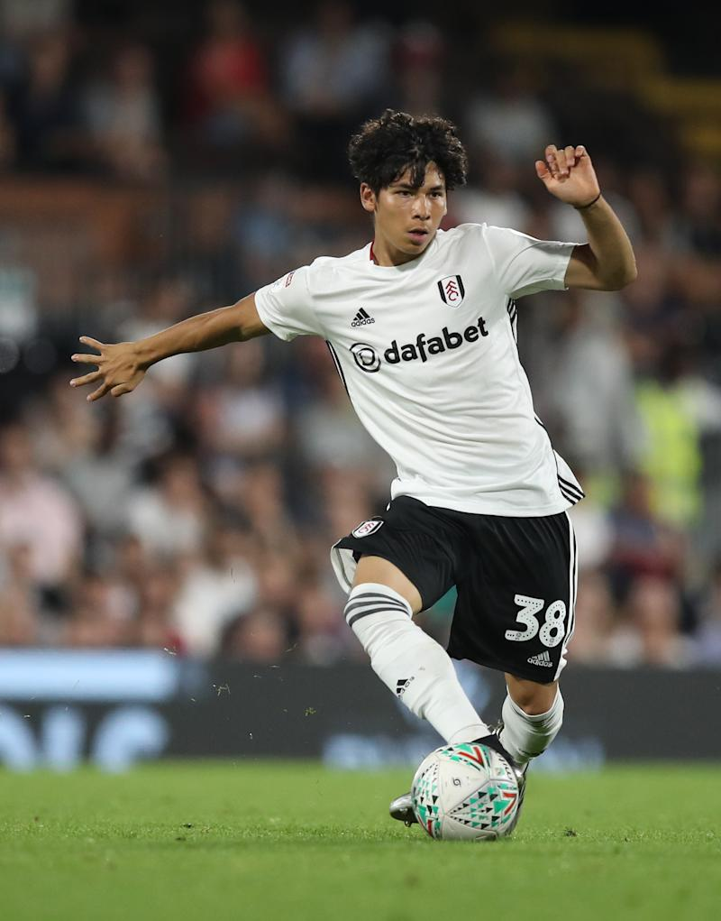 Fulham's Ben Davis during the Carabao Cup Second Round match at Craven Cottage, London. (Photo by Andrew Matthews/PA Images via Getty Images)