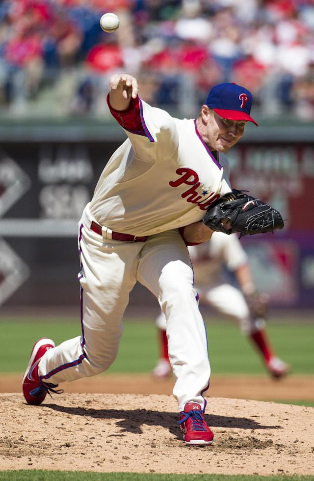 Halladay strong in return as Phils beat DBacks