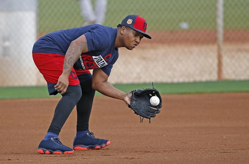 Jose Ramirez is coming off his best major league season. (AP)