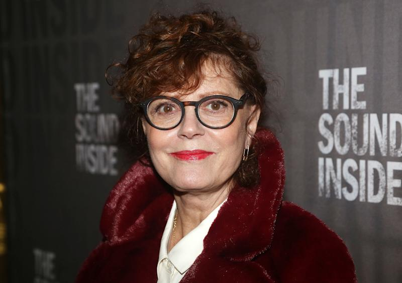 "NEW YORK, NEW YORK - OCTOBER 17: Susan Sarandon poses at the opening night of the new play ""The Sound Inside"" on Broadway at Studio 54 Theatre on October 17, 2019 in New York City. (Photo by Bruce Glikas/WireImage)"