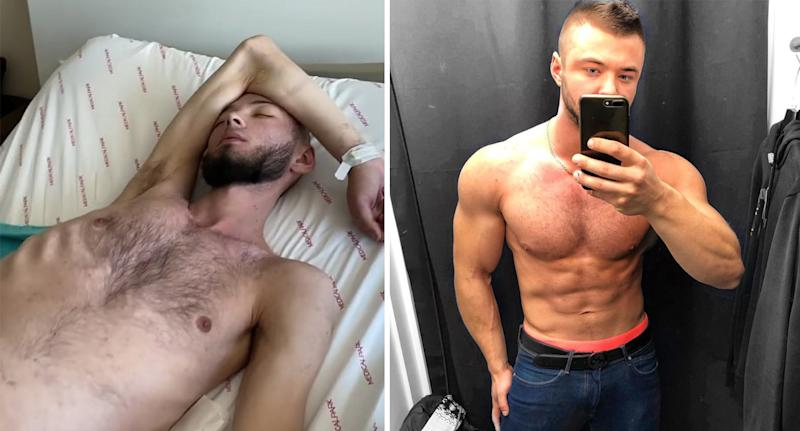 The Russian body builder was stunned to receive the diagnosis. Source: Australscope