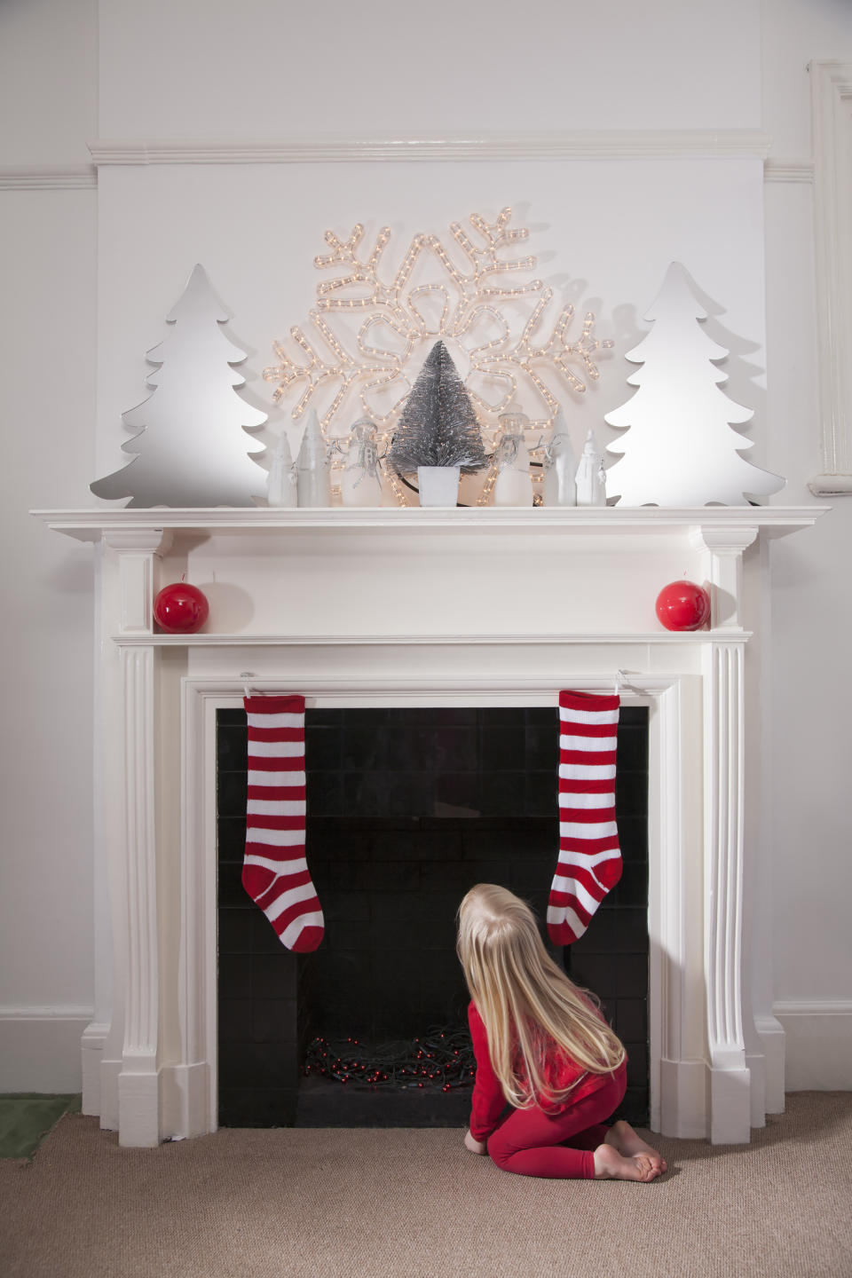 Should parents tell children the truth about Father Christmas? [Photo: Getty]