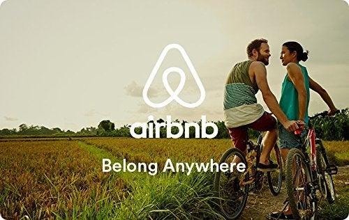 """<strong><h3>Airbnb Giftcard</h3></strong> <br>Surprise your hunnie with the ultimate date escape: a blank choose-their-own adventure card from Airbnb. (And hope they bring you with them.)<br><br><strong>Airbnb</strong> Airbnb Gift Cards - Email Delivery, $, available at <a href=""""https://amzn.to/2toq3Jv"""" rel=""""nofollow noopener"""" target=""""_blank"""" data-ylk=""""slk:Amazon"""" class=""""link rapid-noclick-resp"""">Amazon</a><br>"""