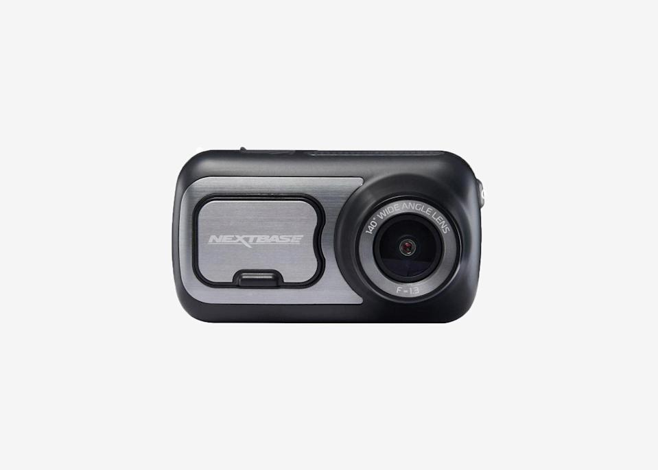 """<p>In the interest of safety, you may want a dash cam in your car, should you get into an accident or pulled over. This one records clear, crisp video that syncs to your phone through the Nextbase app, allows for voice control commands thanks to connected Alexa technology, and offers a unique Emergency SOS service, which detects serious collisions and alerts emergency services of your location if you are unresponsive. You'll need to buy a <a href=""""https://amzn.to/2YIZdbg"""" rel=""""nofollow noopener"""" target=""""_blank"""" data-ylk=""""slk:U3 microSD card"""" class=""""link rapid-noclick-resp"""">U3 microSD card</a> to use with it, and use the included charger to keep it juiced up. The camera records continuously when it is plugged in and the car is on, and has an optional intelligent parking mode that automatically records any bump or physical movement on the vehicle when left unattended using the camera's internal battery.</p> <p><strong>Buy now:</strong> <a href=""""https://fave.co/3hDluzJ"""" rel=""""nofollow noopener"""" target=""""_blank"""" data-ylk=""""slk:$189, adorama.com"""" class=""""link rapid-noclick-resp"""">$189, adorama.com</a></p>"""