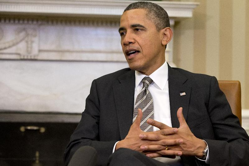 FILE - In this Feb. 15, 2013 file photo, President Barack Obama speaks in the Oval Office of the White House in Washington. The politics have been fierce and the fingerpointing incessant. Come March 1, the across-the-board federal spending cuts called sequestration go into effect, launching a new season of economic uncertainty for a nation still trying to shake off a recession. A look at the cuts, how much they amount to and who they will affect -- in question and answer form. (AP Photo/Jacquelyn Martin, File)