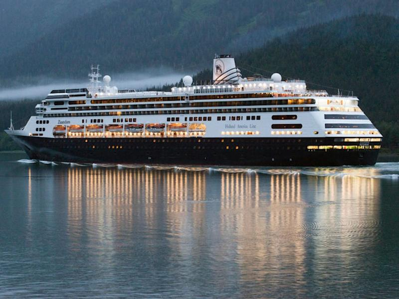 Holland America cruise ship Zaandam