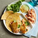 <p>This kid-friendly recipe keeps every element of tacos separate so your child can decide to eat them separately or have fun building their own mini tacos with their favorite toppings. Plus, it's perfect for packing into a bento box for a healthy lunch for school.</p>