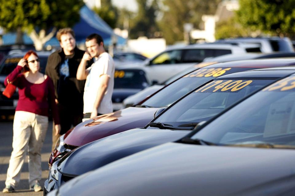 <p>Online used car sellers are raking in huge valuations around the world</p> (Mario Anzuoni/Reuters)