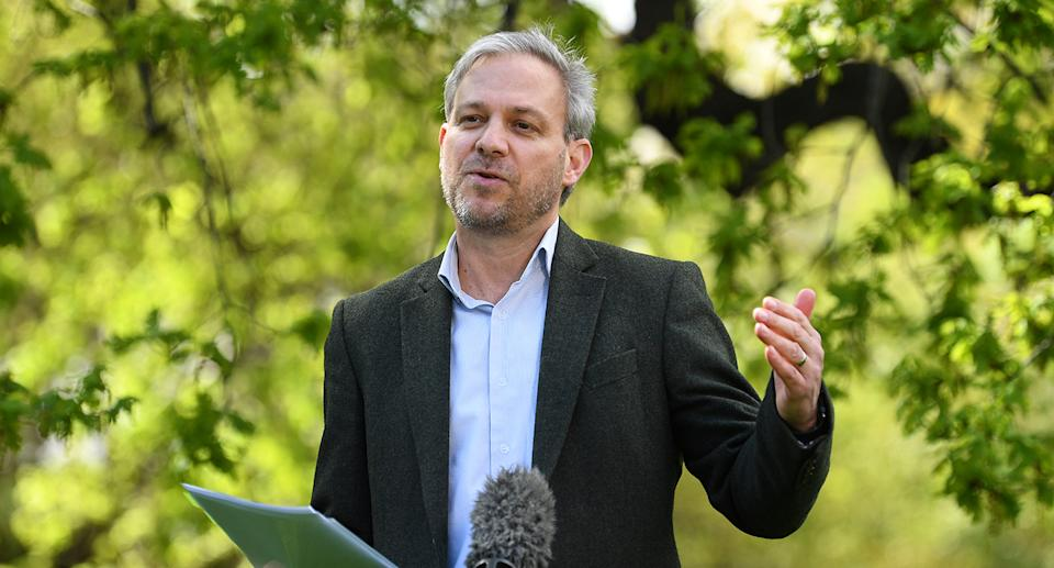 Victorian Chief Health Officer Brett Sutton addresses the media during a press conference in Melbourne on September 4, 2021. Source: AAP