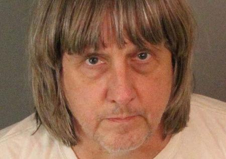 David Allen Turpin appears in a booking photo provided by the Riverside County Sheriff's Department January 15, 2018.   Riverside County Sheriff's Department/Handout via REUTERS