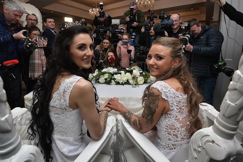 Northern Ireland Celebrates First Same-Sex Marriage: 'Our Love Is Just the Same'