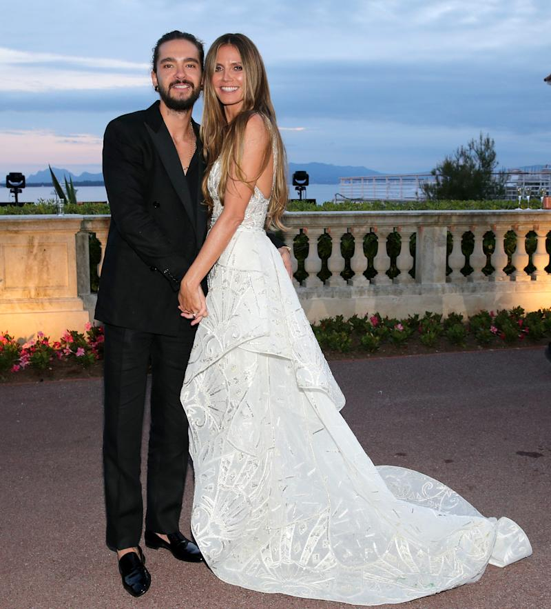 Heidi Klum married 30-year-old Tom Kaulitz earlier this year. Photo: Getty