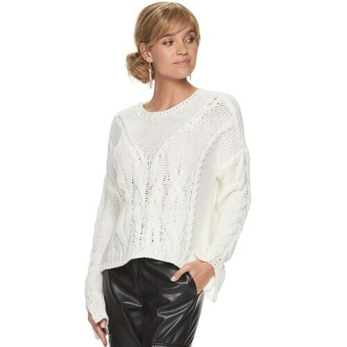 This sweater will become a go-to once it's finally cold out, thanks to the super soft (and super thick) knit. (Photo: Kohl's)