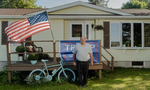 The family whose Black Lives Matter sign shook their conservative town
