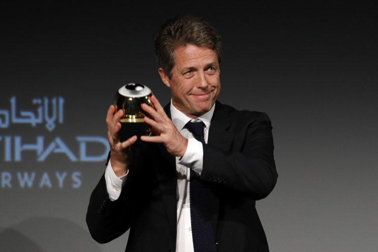 Hugh Grant in September (Photo: Andreas Rentz/Getty Images)