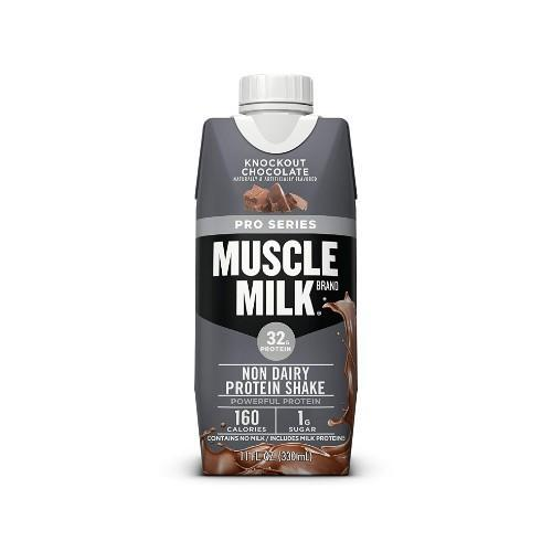 Muscle Milk Pro Series Protein Shake- Knockout Chocolate, 12 count (Photo: Amazon)