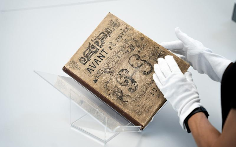 The manuscript was gifted to the nation
