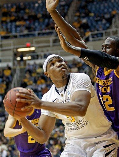 West Virginia beats Tennessee Tech 72-53