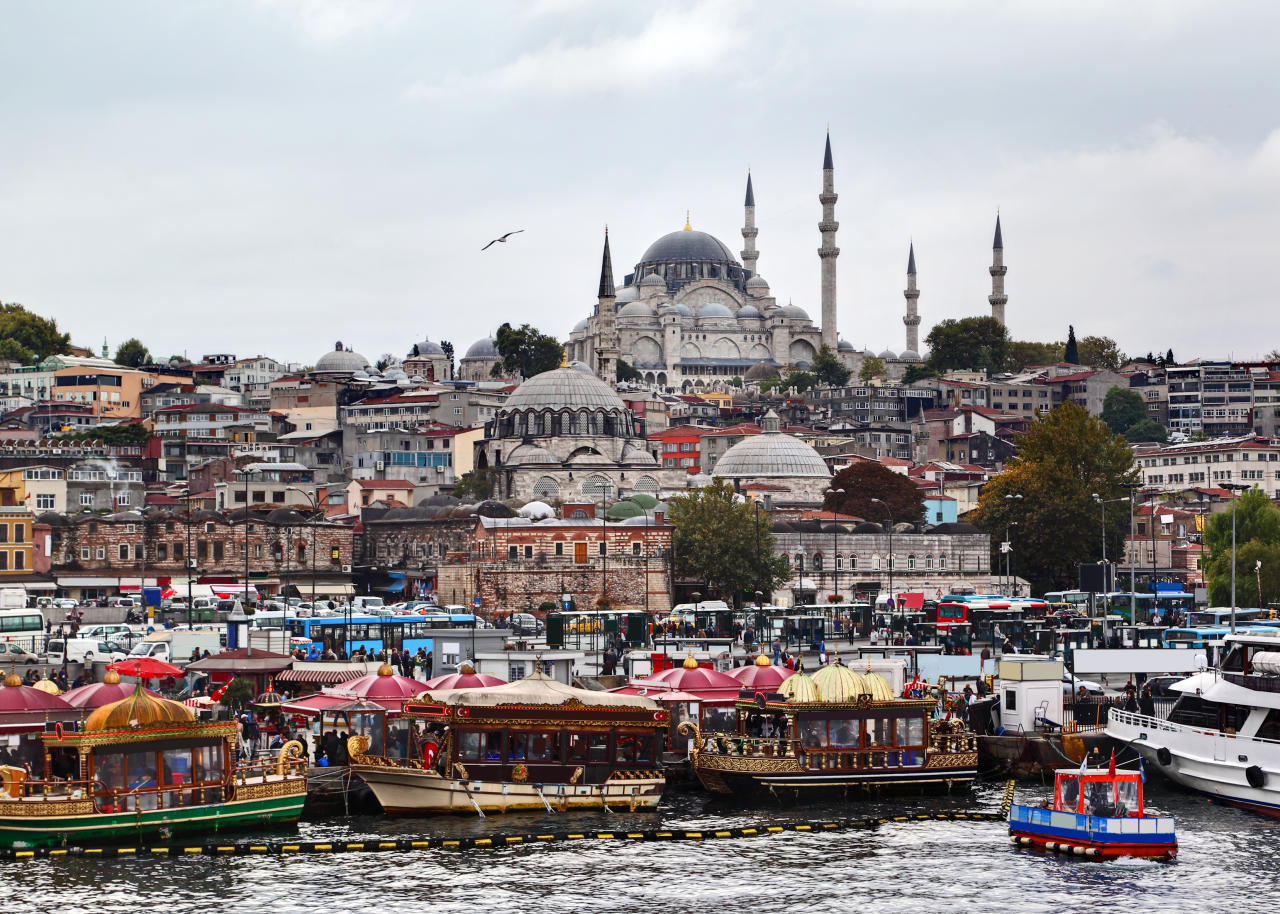 The Huslte and Bustle of Istanbul