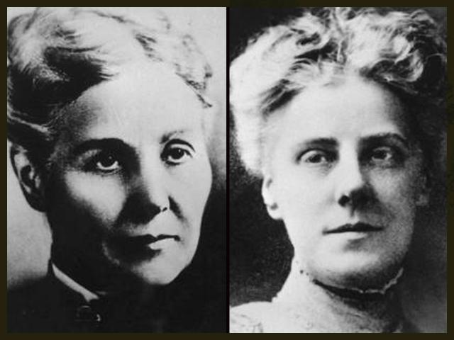 Ann Reeves Jarvis, left; and her devoted daughter, Anna Jarvis, right. (Courtesy of The Library of Congress)