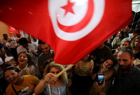 Tunisian establishment stunned as outsiders win presidency