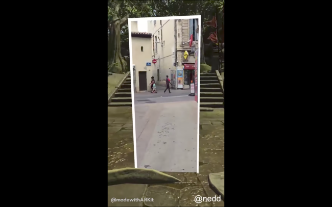 apple arkit portal