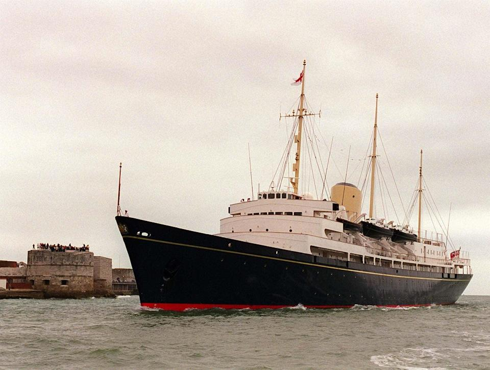 The Royal Yacht Britannia (Library/PA) (PA Archive)