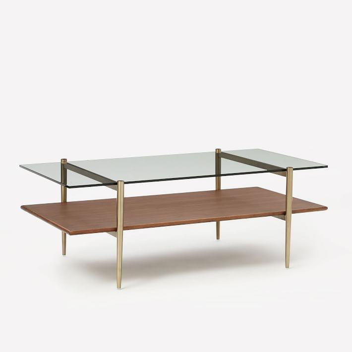 West Elm Medium Origami Coffee Table - AptDeco | 710x710