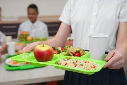 """<span class=""""attribution""""><a class=""""link rapid-noclick-resp"""" href=""""https://www.shutterstock.com/image-photo/girl-holding-tray-delicious-food-school-687083455"""" rel=""""nofollow noopener"""" target=""""_blank"""" data-ylk=""""slk:Africa Studio/Shutterstock"""">Africa Studio/Shutterstock</a></span>"""
