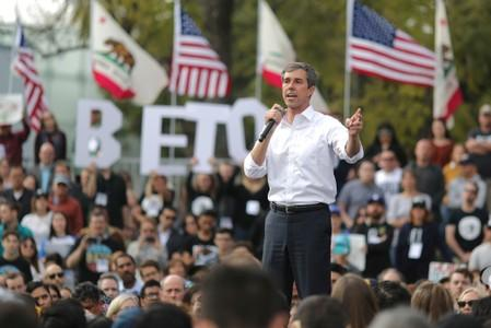 Democrat presidential hopeful Beto O'Rourke outlines LGBTQ policy proposal