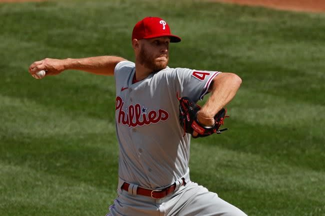 Phils setback: Zack Wheeler rips nail putting on his pants