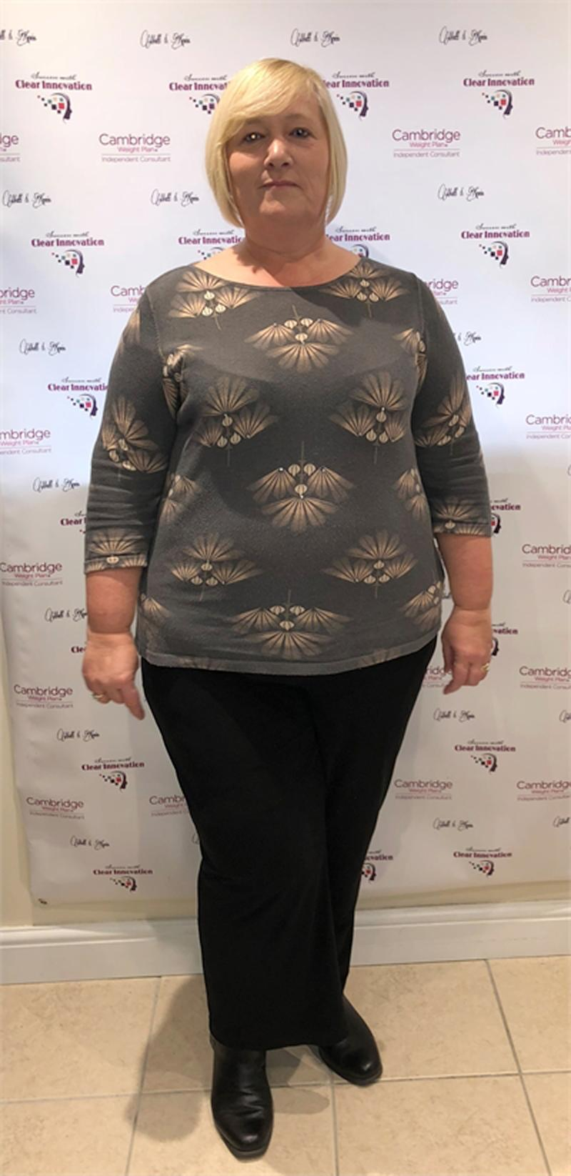 A morbidly obese mum has revealed how she managed to lose 54kg after struggling to fit into XXL size pants. Photo: Caters