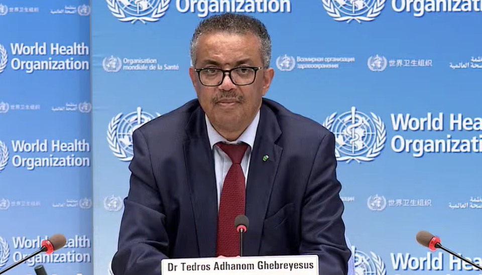 Dr Tedros Adhanom Ghebreyesus said on Wednesday he expects to see the number of COVID-19 cases reach 10 million within the next week. (WHO)