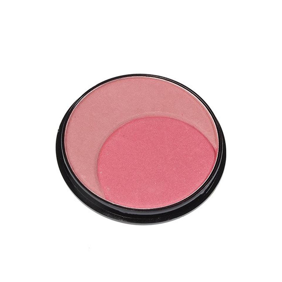 """<p>Sweep on a natural-looking flush with one of these pink shades or swirl them together to create a thrid custom shade.</p><p>$1 (<a rel=""""nofollow"""" href=""""https://www.shopmissa.com/collections/cosmetics/products/sun-kissed-mineral-blush-2?mbid=synd_yahoobeauty&variant=4802329539"""">shopmissa.com</a>).</p>"""