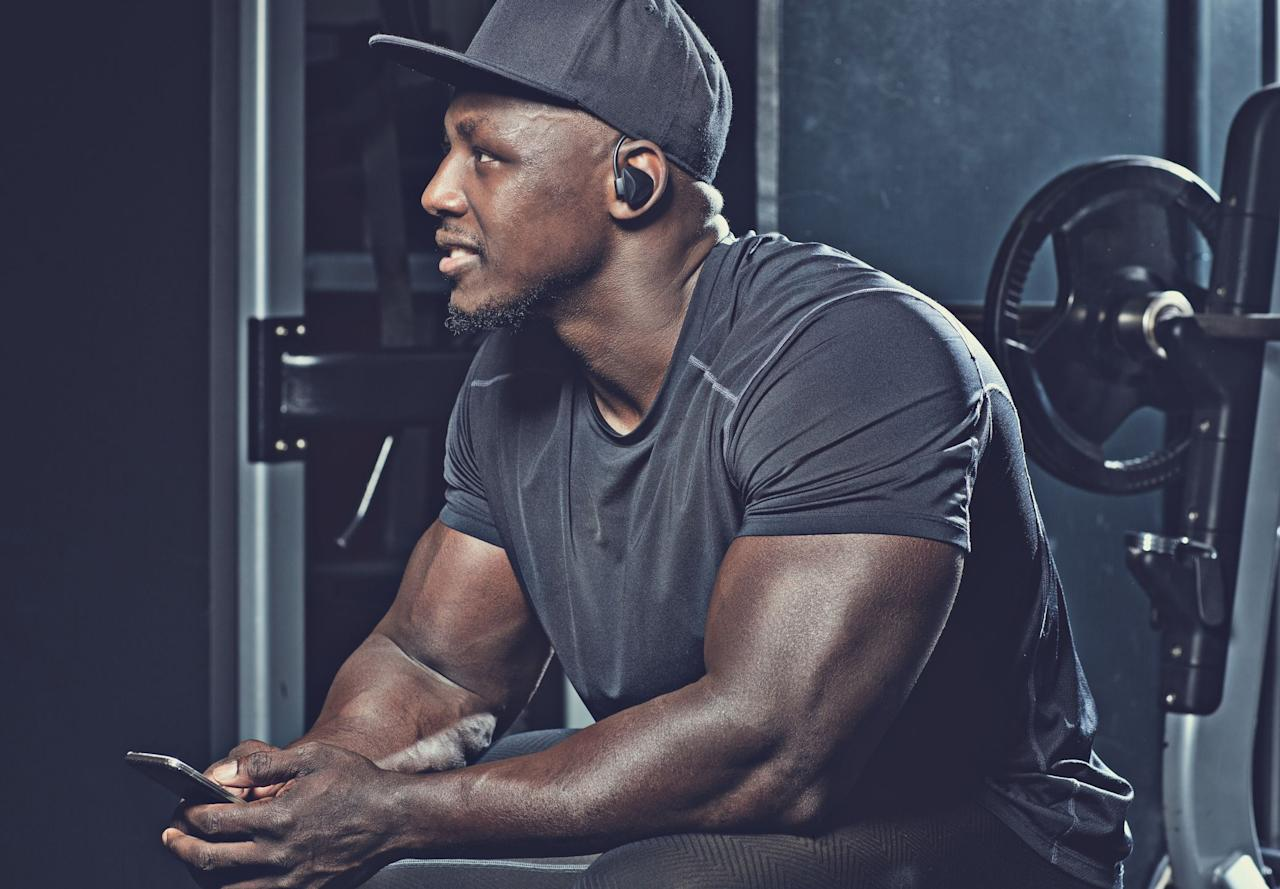 """<p>No gym prep is complete without the perfect playlist. </p><p>The tunes aren't just to keep you occupied while you toil away, working to build up your body. <a href=""""https://www.menshealth.com/fitness/a19540045/march-music-madness/"""" target=""""_blank"""">Studies have linked music</a> with greater exercise performance, better reaction times, and increased levels of motivation, after all, so keeping the jams pumping is important for your gains. <a href=""""https://www.menshealth.com/fitness/a25938394/workout-music-amazon-playlist/"""" target=""""_blank"""">Picking the right mix of songs</a> is key, but if you don't have a dependable means to get those beats to your ears, you'll be stuck on square one. After all, you can't depend on being able to steal the aux cord at your gym to change the playlist from hair metal hits to your playlist—and you <em>definitely</em> can't break the cardinal rule of public space and play your tunes for all to hear. For that, you'll need a solid pair of workout headphones, since not just any old earbuds can stand up to the rigors of the gym. </p><p>Sweat and activity can be a challenge for many types of electronics, but there are plenty of great audio options that can help you power through your toughest sessions. Check out these 12 sets of wireless headphones—many of which are sweatproof and fitness-focused—for your next workout. </p>"""