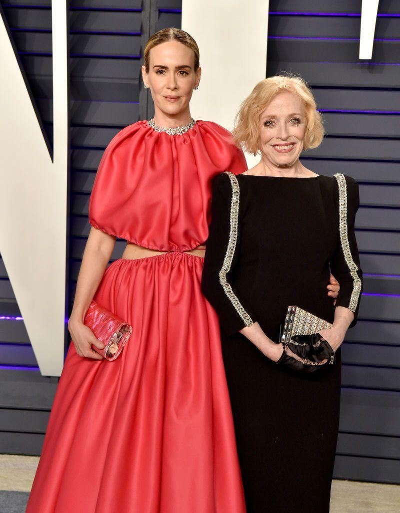 "<p>Sarah Paulson and Holland Taylor are proving that true love has no age limit. The actresses shocked the world when they started dating in 2015, but neither of them is fazed by their 32-year age gap.<br></p><p>""I think there's a greater appreciation of time and what you have together and what's important, and it can make the little things seem very small,"" Paulson <a href=""https://www.nytimes.com/2016/03/03/fashion/sarah-paulson-opens-up-about-dating-older-women-holland-taylor.html"" rel=""nofollow noopener"" target=""_blank"" data-ylk=""slk:said of their age difference"" class=""link rapid-noclick-resp"">said of their age difference</a>. </p>"