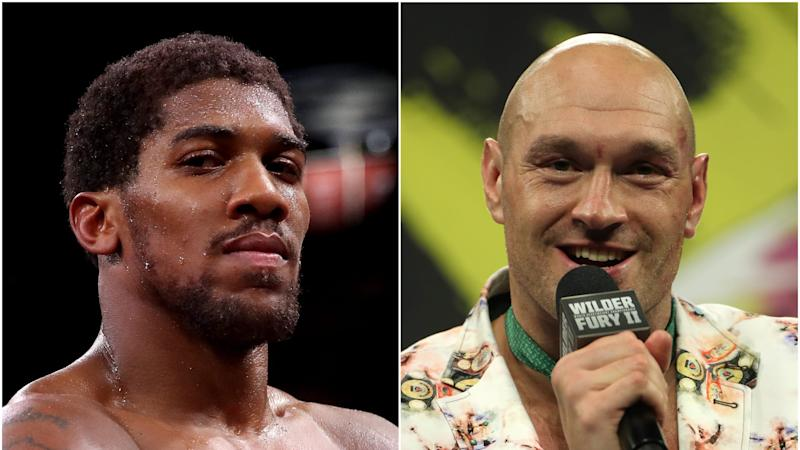 Anthony Joshua and Tyson Fury agree to blockbuster two-fight deal