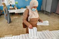 More than half of the candidates in Saturday's election are listed on the ballot paper as independents