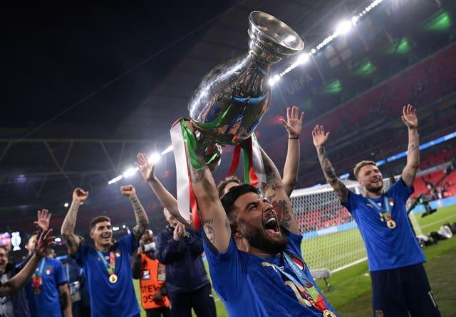 Insigne was one of Italy's top performers at Euro 2020