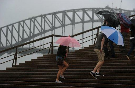 Sydney has experienced one of its wettest summers in decades and the rain has continued to fall at the start of autumn
